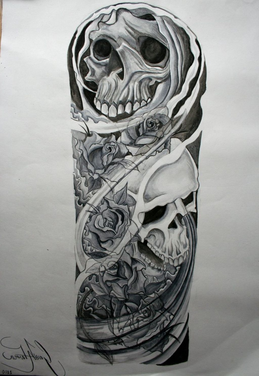 Half sleeve tattoo ideas with meaning image xanl listed for Half sleeve tattoo sketches