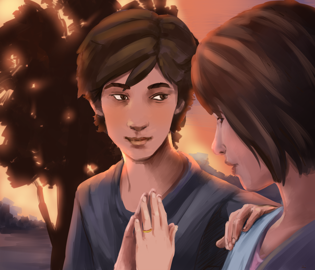 Life Is Strange Max And Warren By Agentknopf Deviantart On
