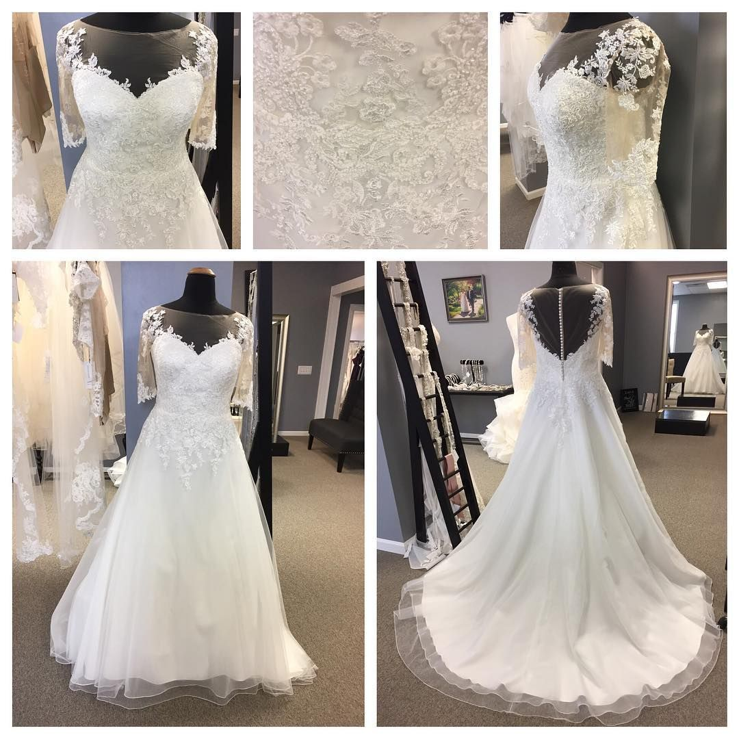 Fuller figured brides can get beautiful plus size wedding gowns