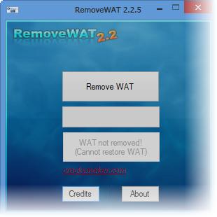 Активация windows 7 removewat