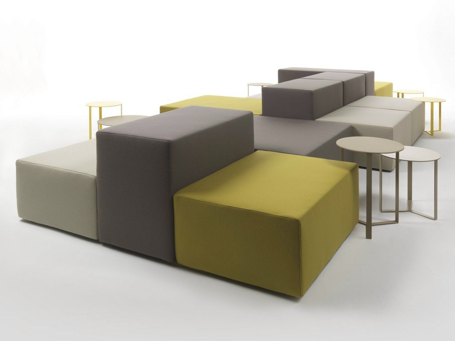 Bureau Composable Canapé Composable Modulable Lounge Collection Lounge By