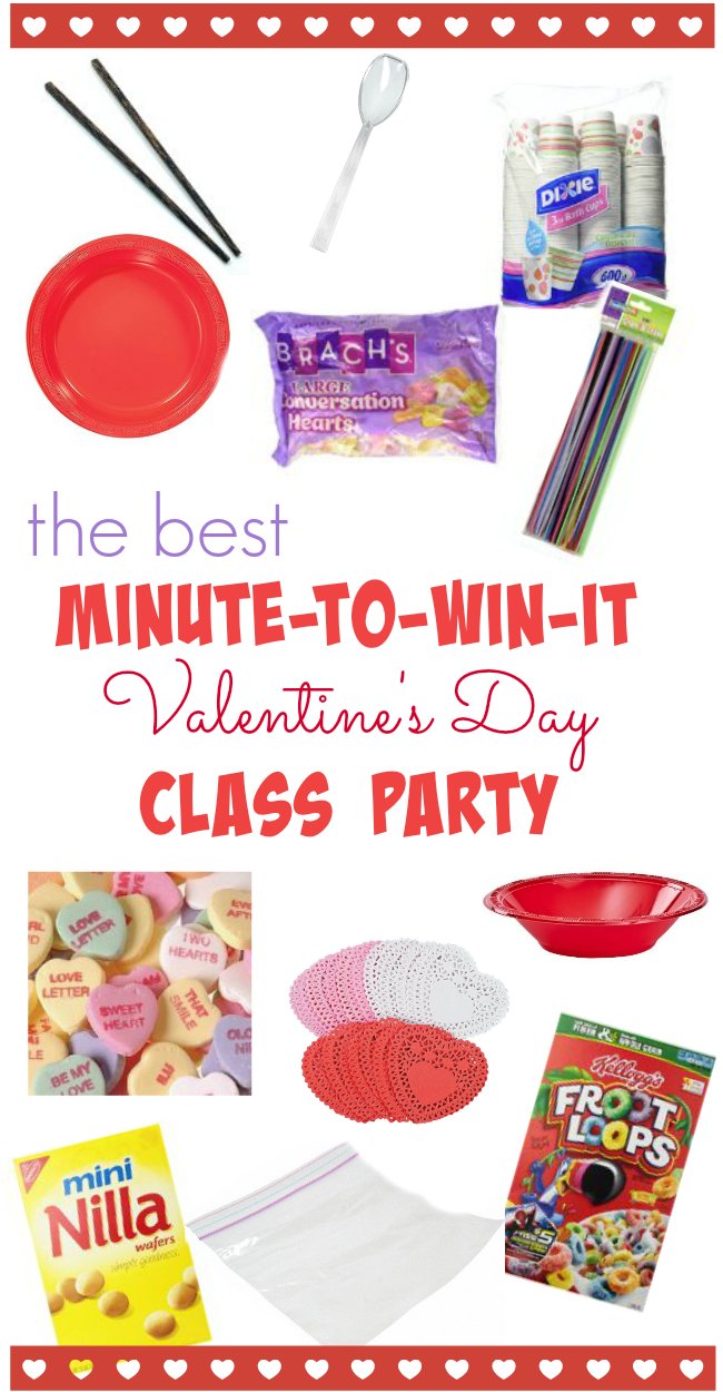 minute to win it class party teachmamacom - Valentine Minute To Win It Games