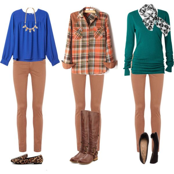 Tan Skinnies Options