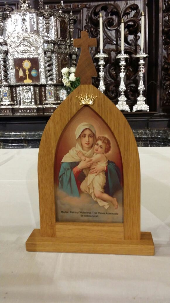 Santuario de la VP de Schoenstatt, en la iglesia de el Salvador y Santo Domingo de Córdoba (España) 2014 11 17