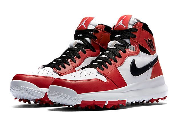 ff3951d6151a9a Jordan Brand is bringing the correct heat to the green with the release of  the Air Jordan 1 Retro High Golf Shoe. We first saw a similar sample leaked  by ...
