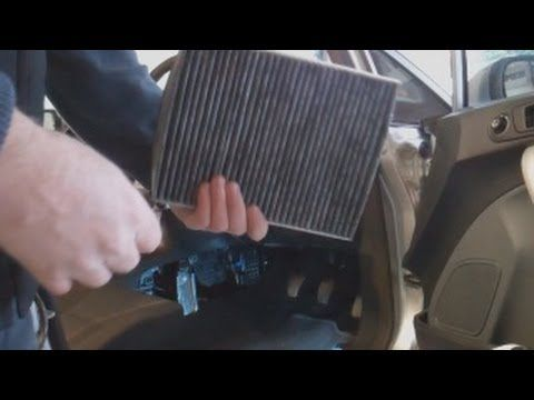 Ford Fiesta Mk7 Cabin Pollen Odour Filter Replacement Ford