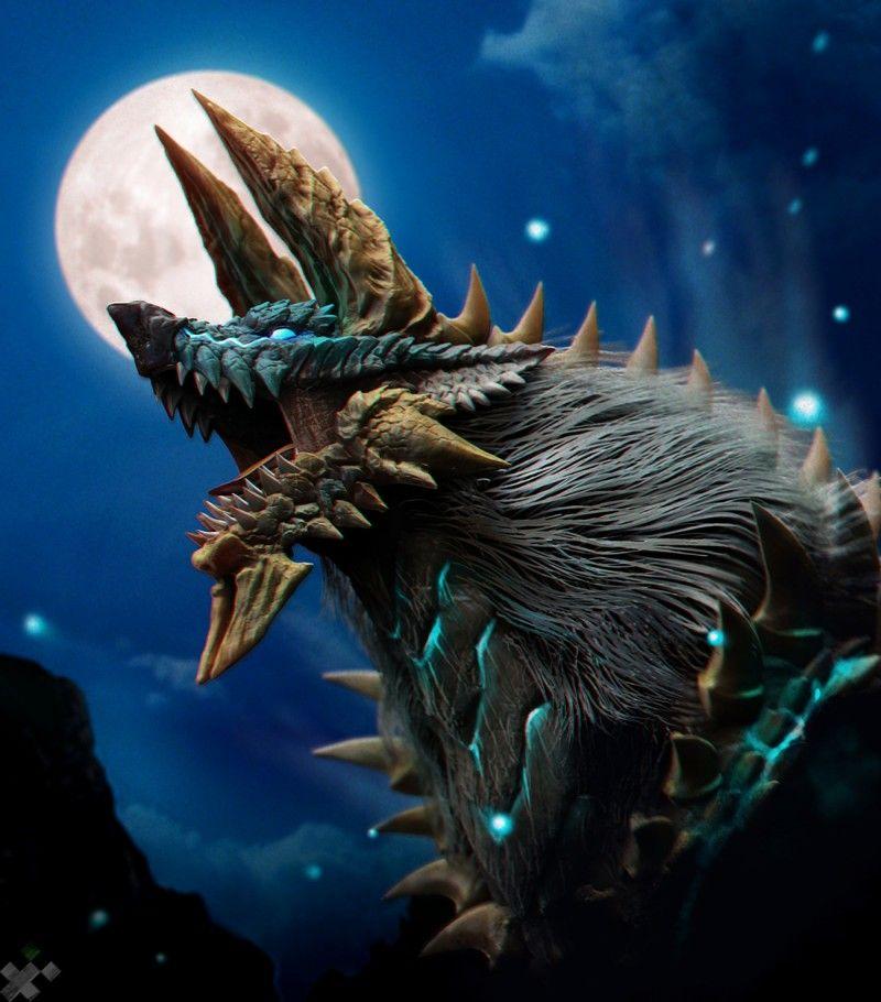 Jinouga Fanart Timelapse With Images Monster Hunter Art