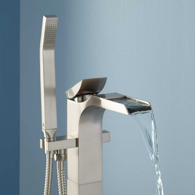Willis Freestanding Waterfall Tub Faucet Bathroom Reno Bathroom