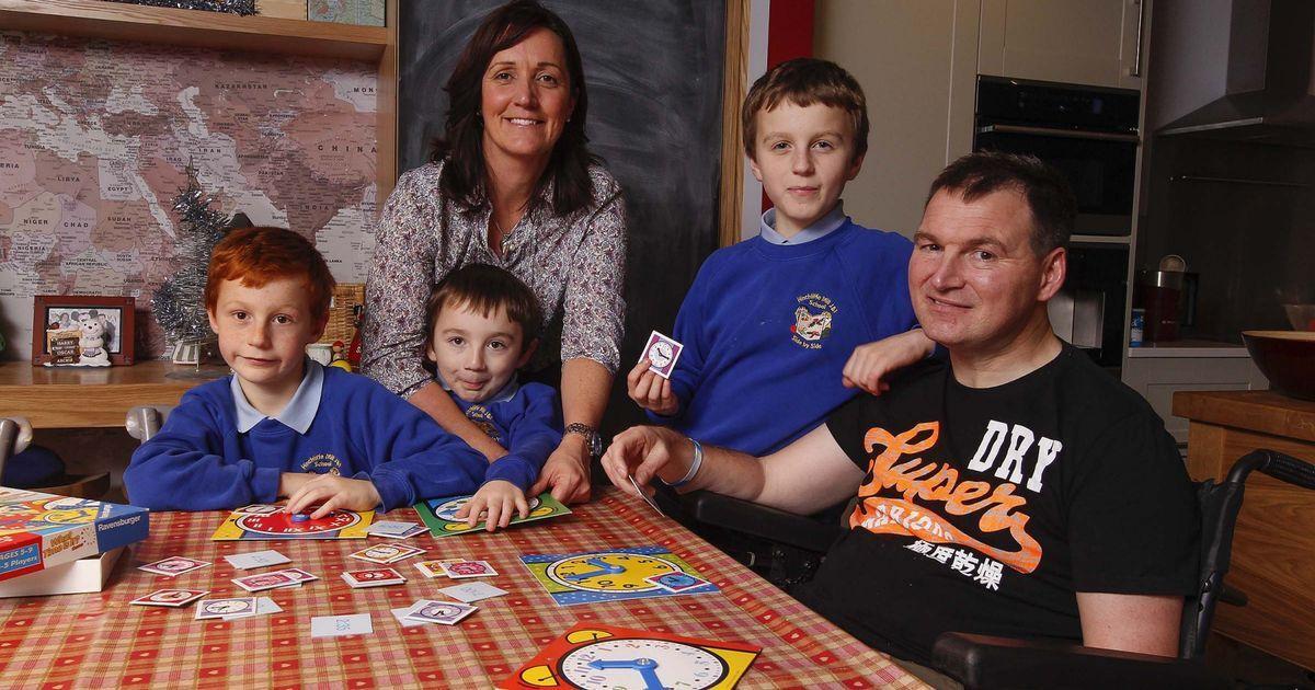DIY SOS See inside Holmbridge home of stroke survivor