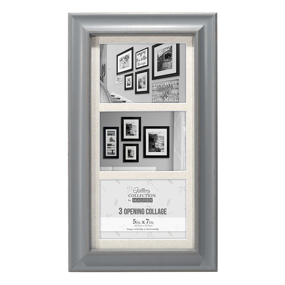 Malden 3 Opening 5 X 7 Barnside Collage Frame Collage Frames Frame Plastic Picture Frames