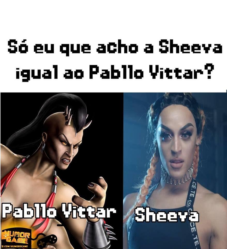 Pabllo Vittar E Shiva Mortal Kombat São A Mesma Pessoa