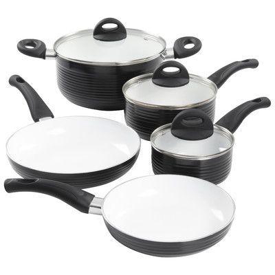 Gibson Stanza 8 Piece Cookware Set