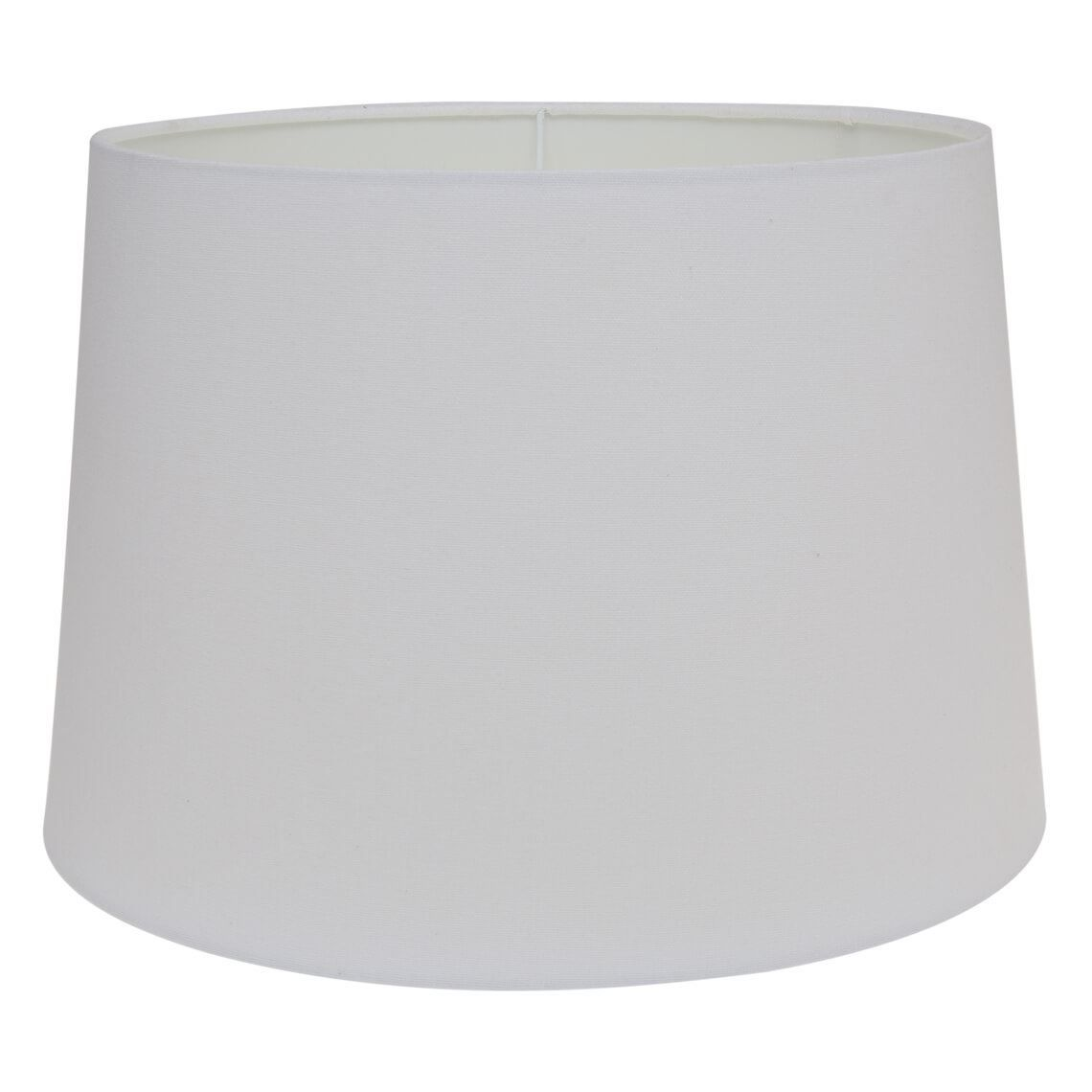 Moon 30x20cm Tapered Lamp Shade White Shades Ceiling Fixtures