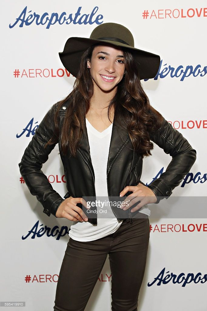Aly raisman for aeropostale pinterest aly raisman august 24 and olympic medalist aly raisman takes part in a fan meet and greet during a promotion for aeropostales seriously stretchy denim at aeropostale on august 24 m4hsunfo