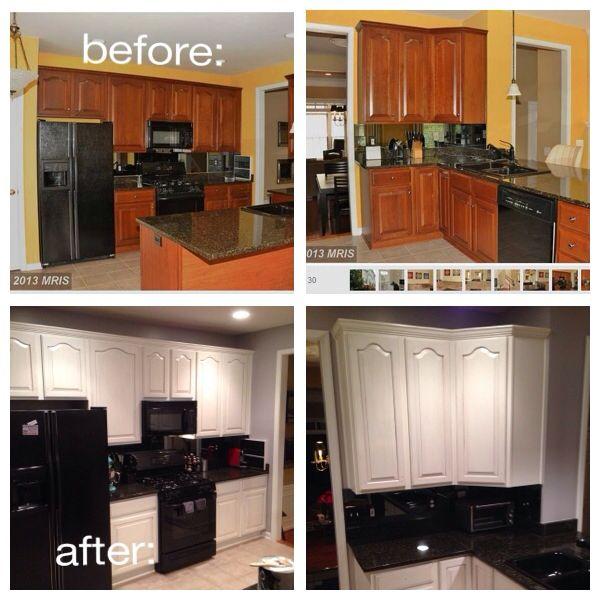 Kitchen Cabinet Restoration Ideas: Kitchen Cabinet Refinishing