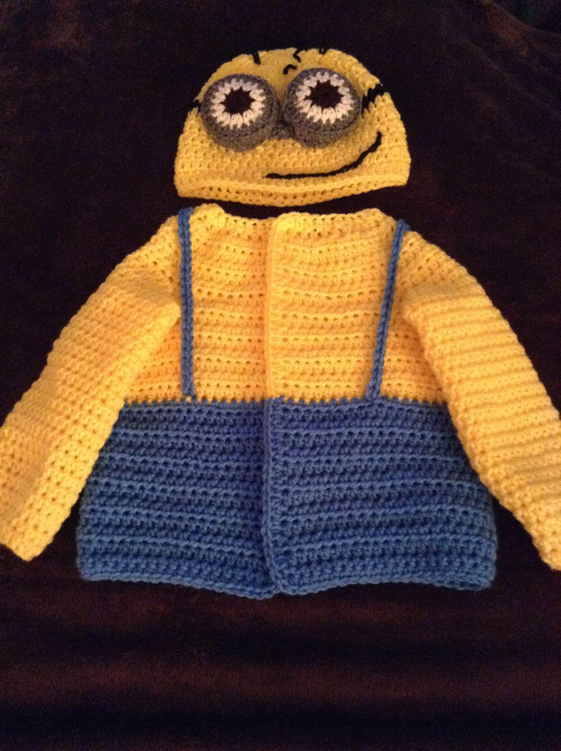 Minion Beanie and sweater | Tejido ninos. | Pinterest | Tejido