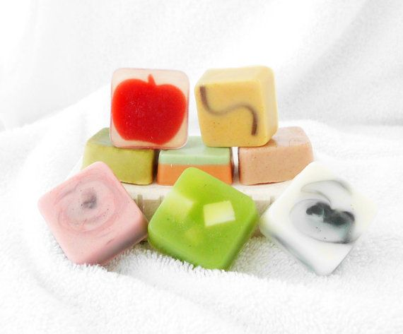 Small Soap Sampler Pack by Contented Comfort on Etsy, $6.00 - Basic and sci-fi or fantasy inspired original fragrances available for men and women.