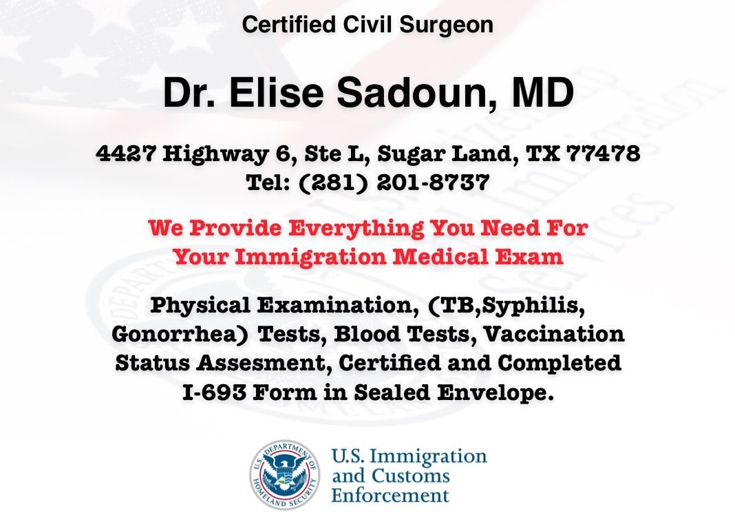 Immigration Medical Exam When You Apply For A Green Card (adjustment Of  Status) In