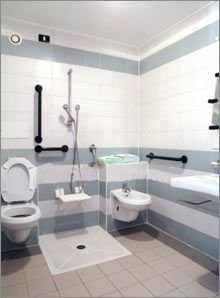 Accessible Bathroom Designs Handicap Bathroom Complete All In One Designtoilet Shower And