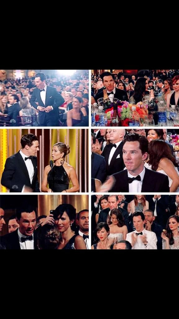 Benedict Golden Globes collage 1/11/2015