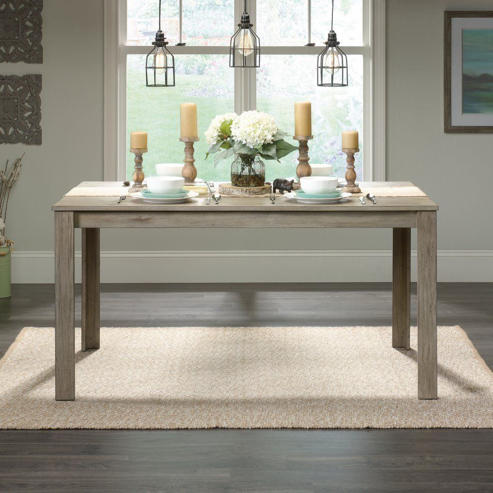 Details about Farmhouse Dining Table Industrial Style Furniture