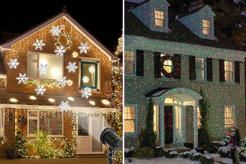 Projetor de luzes de Natal: veja ideias para usar a ...