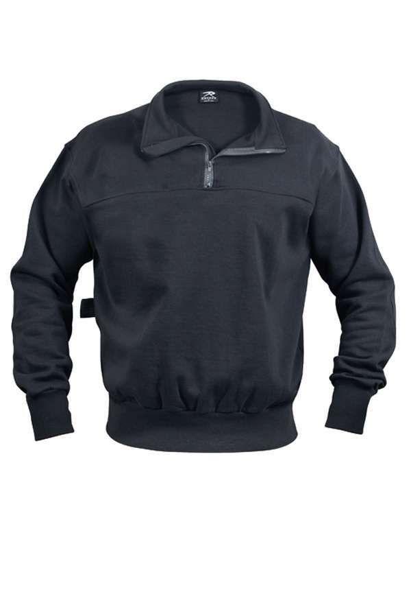 Navy Blue Firefighter/EMS Work Shirt