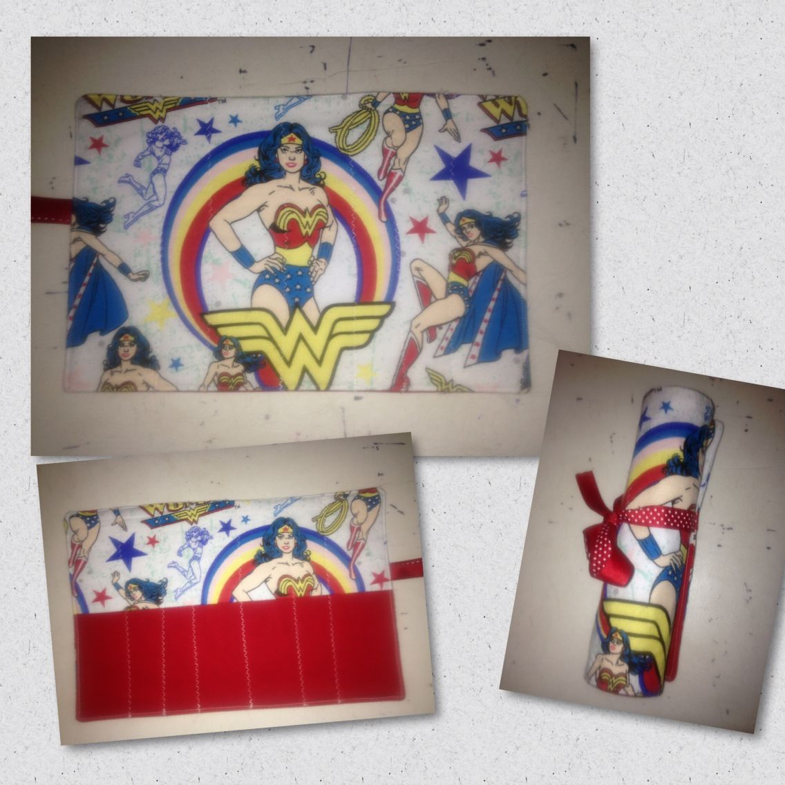 Wonder Woman Makeup brush holders, Makeup brushes, Brush