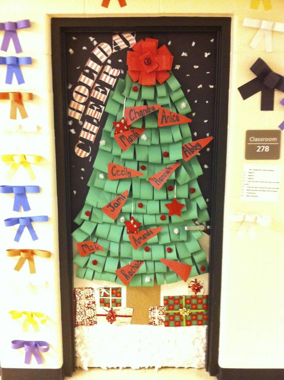 Fall Door Decorations For School Door Decorating Contest Winner