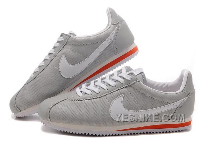 Big Discount  66 OFF Nike Cortez Womens Grey Black Friday Deals 2016XMS1582