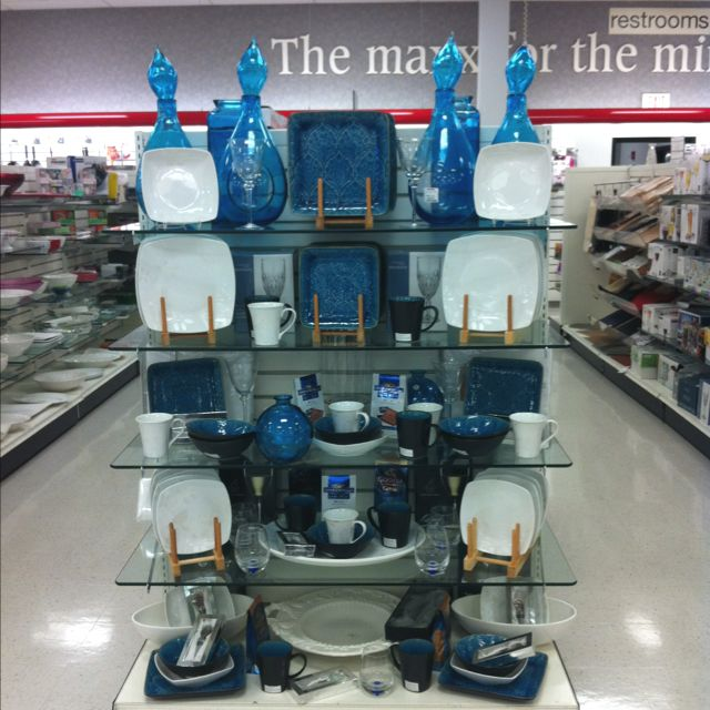 Tj Maxx Home Decor: Awesome Blue Display At Tj Maxx