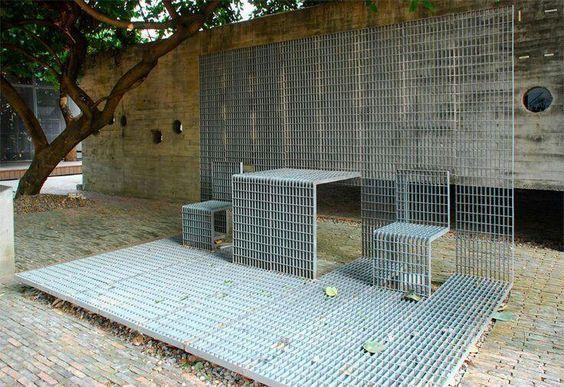 Steel in street furniture: