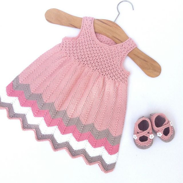 Ravelry Manakhqs Chevron Dress Crochet Dress Pinterest