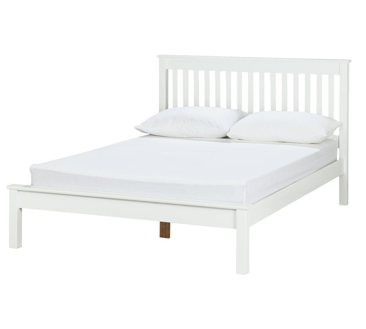Best Buy Argos Home Aspley Small Double Bed Frame White Bed 400 x 300