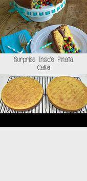 Photo of Surprise Inside Pinata Cake, Schritt für Schritt Anleitung, wie man ein großes WOW … –  #an…