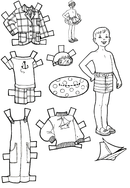 Kids Fun Vacation Paper Dolls Kids Fun Pinterest Fun