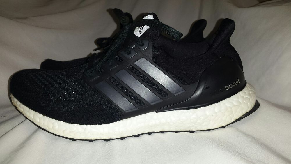 0ba3b98c45458 Adidas Ultra Boost 1.0 Core Black S77417 Running Shoes Size 8.5 ...