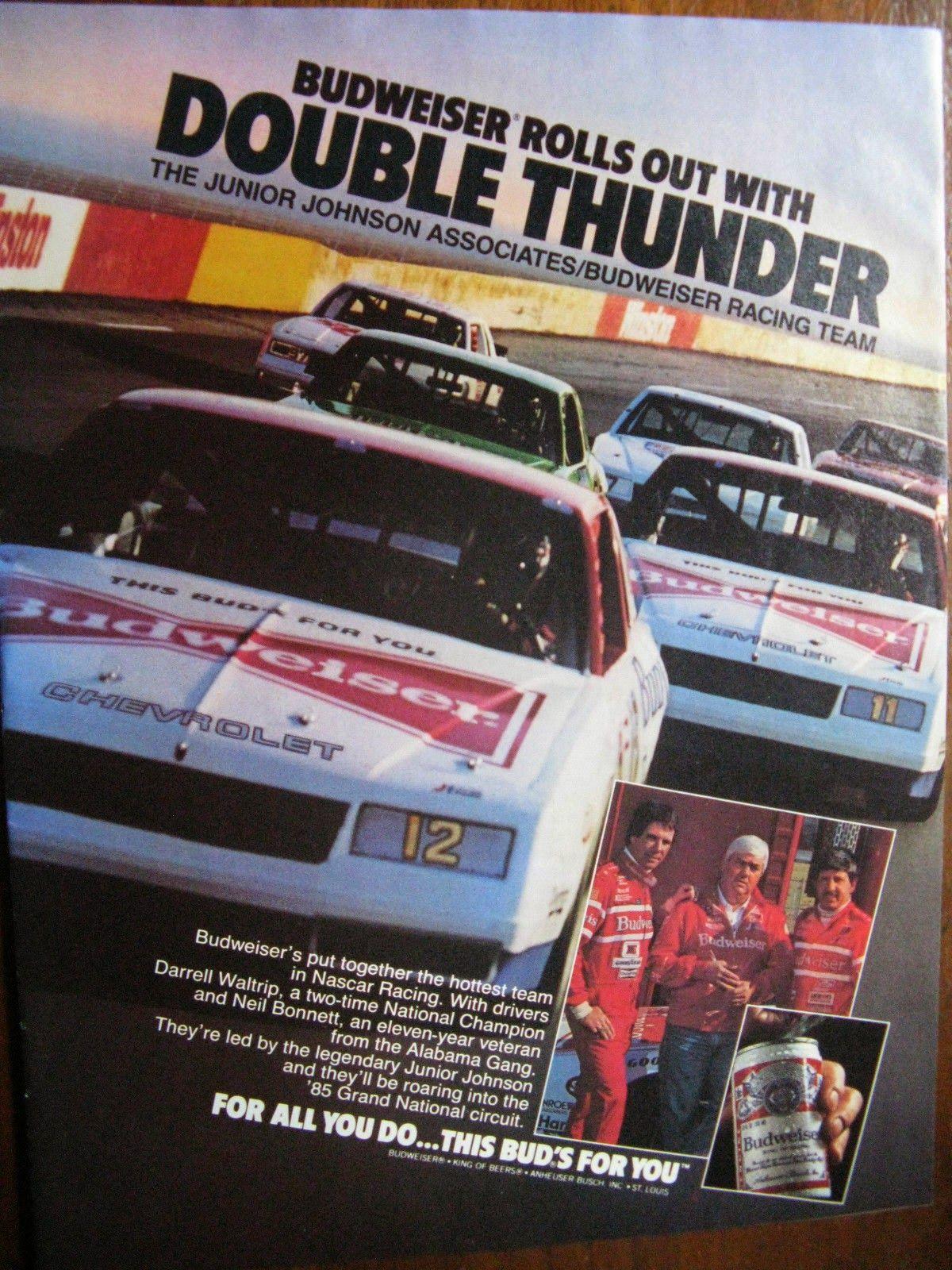 Racing Team, Nascar Racing, Print Advertising, Print Ads, Vintage Photos,  Vintage
