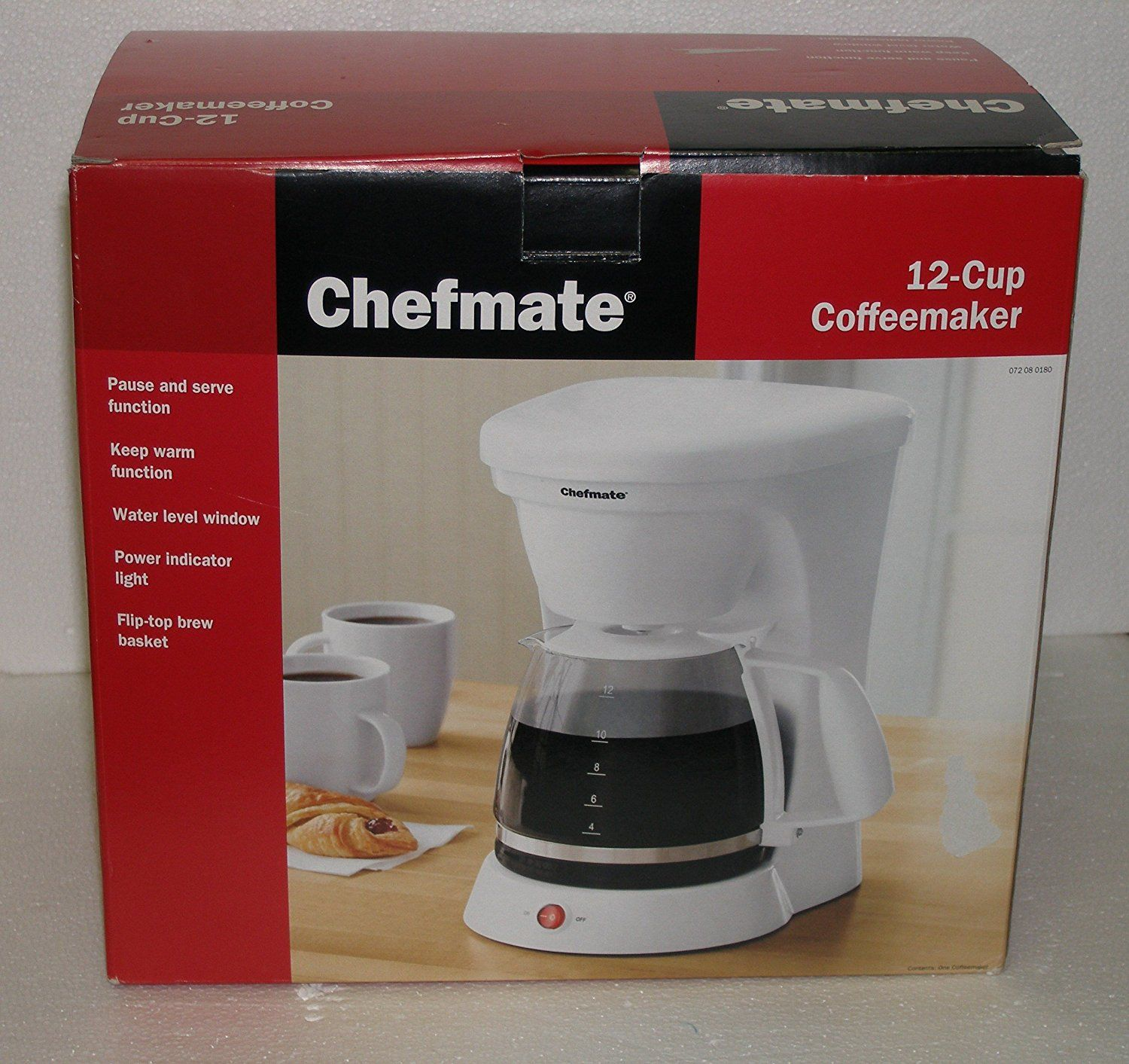 Chefmate cup coffeemaker in white check this awesome image