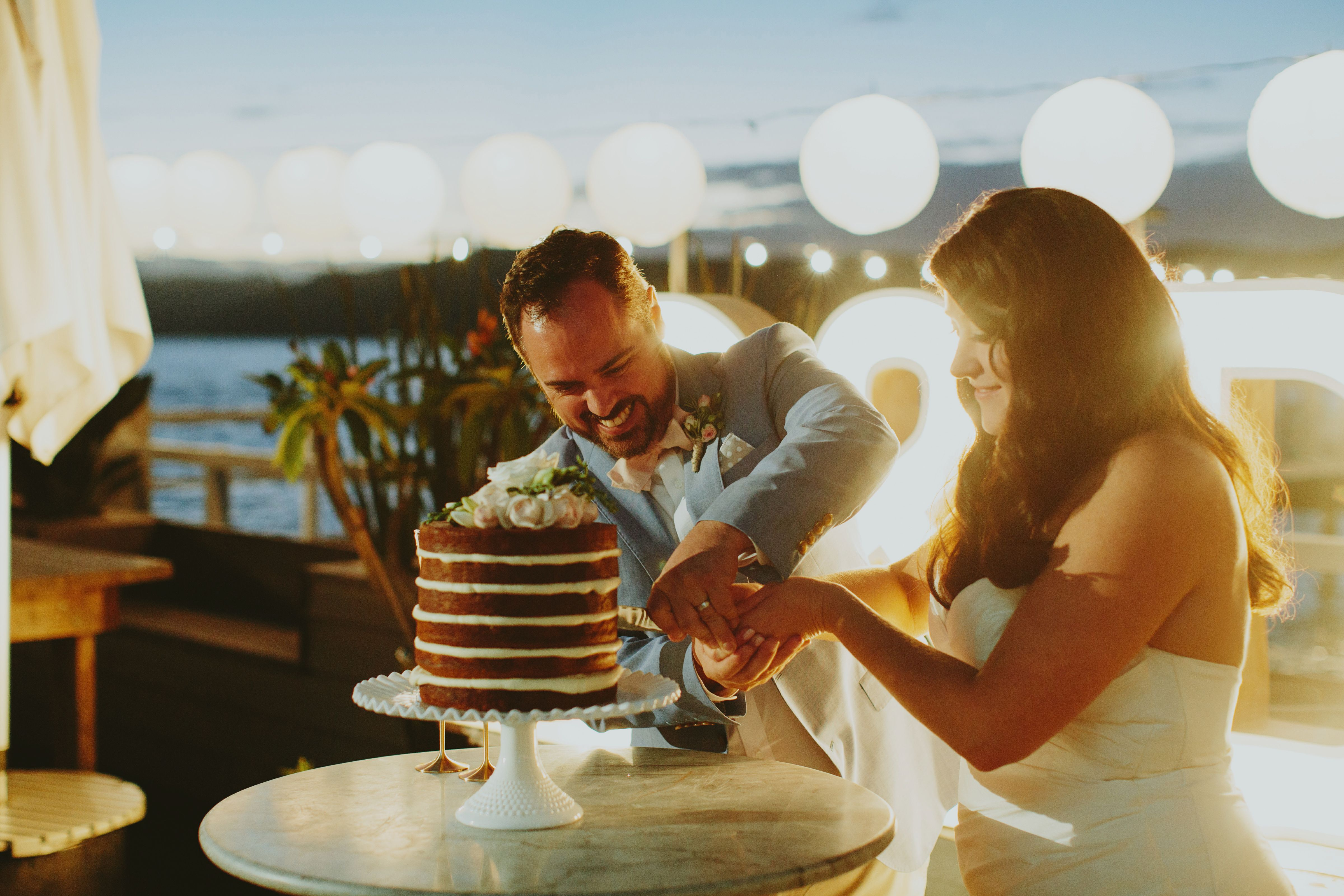 Danielle + Dan - Real wedding at The Boathouse Palm Beach. Photography by I Love Wednesdays