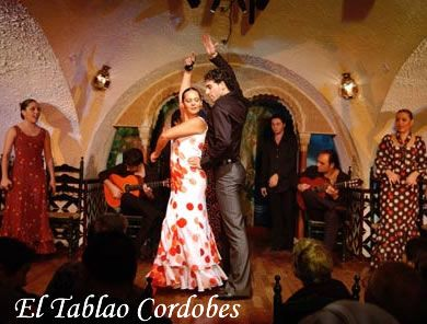 flamenco show at Tablao Cordobes