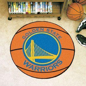Basketball Door Mat Evan Golden State Warriors
