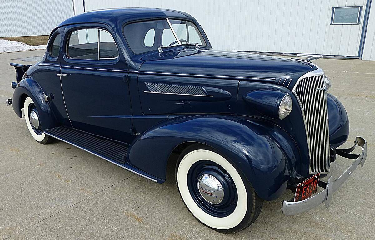 1937 chevrolet master coupe pickup for sale