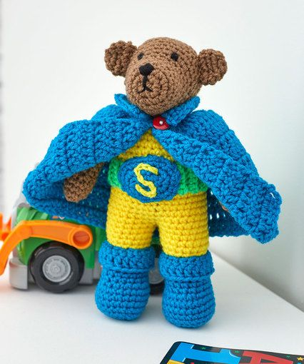 Super Hero Bear Set | crochet patterns | Pinterest
