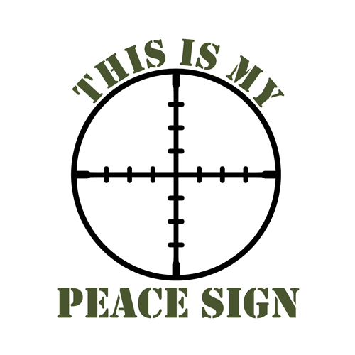 This Is My Peace Sign My Favorite Things Pinterest Guns