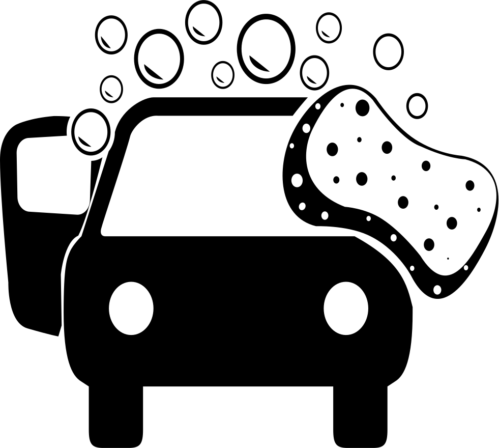 39++ Car wash clipart black and white information