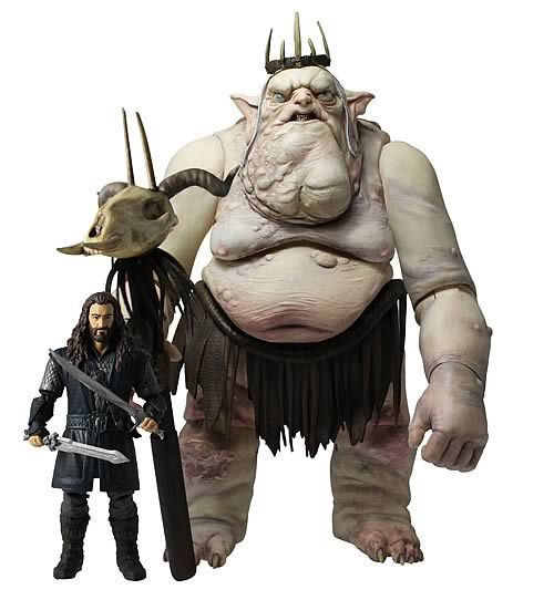 The 16010 The Hobbit Kili The Dwarf And Fili The Dwarf Figures Wave 1-3.75 In. Hobbit