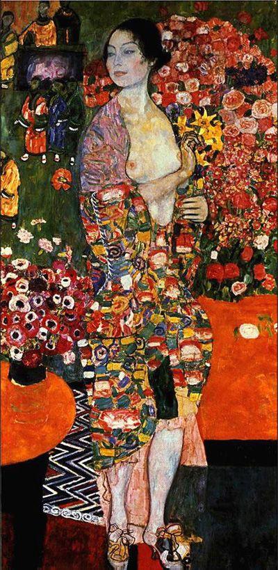 Gustav Klimt The Dancer painting