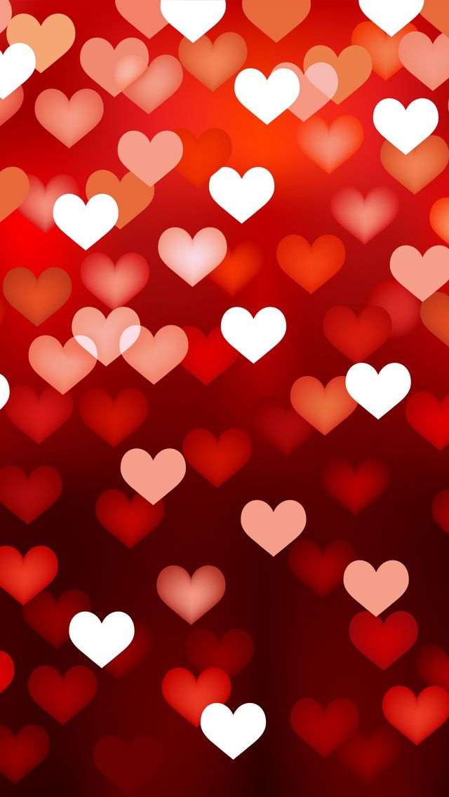 Hearts Iphone Wallpapers Dreamy Lights Mobile9