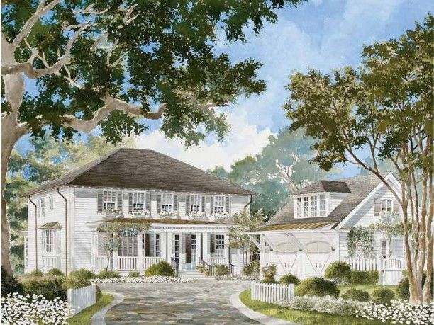 Pin By Beth Owen On Home Southern Living House Plans Colonial House Exteriors Colonial House